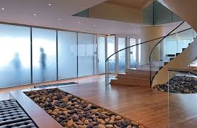 هندرویل و پارتیشن شیشه ای