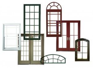در و پنجره یو پی وی سی در شکلها و رنگهای مختلف