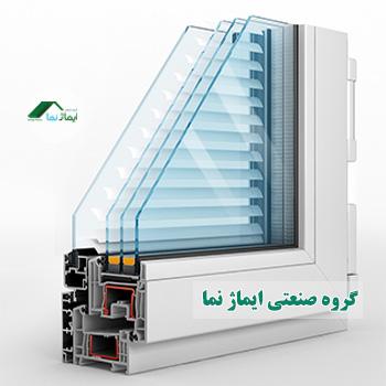 Aluminum window façade