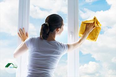 اهمیت و چگونگی نظافت پنجرههای دوجداره